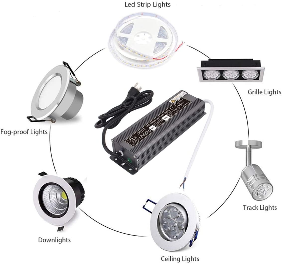 60w LED driver transform LED  power supply manufacturer