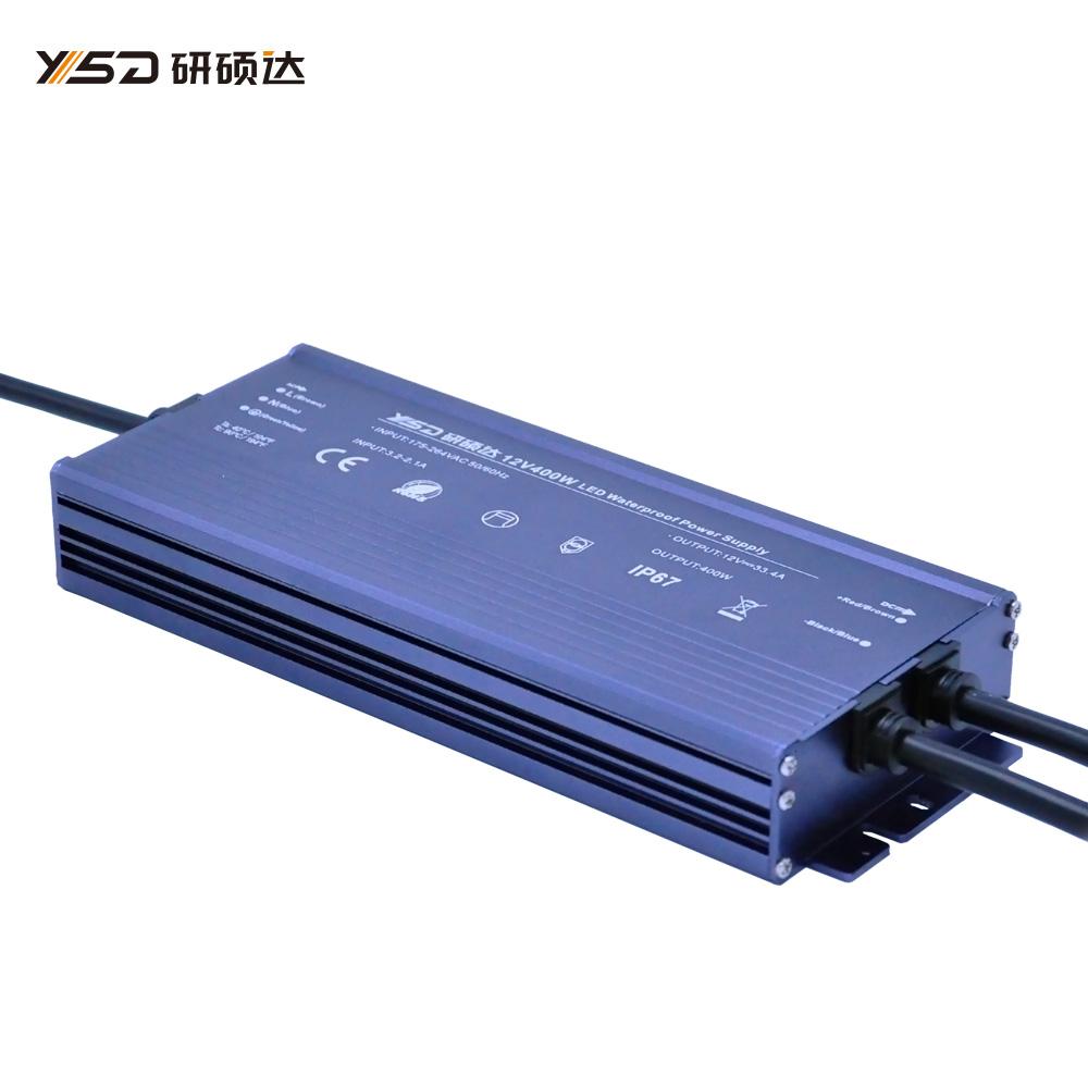 400W 12V/24V waterproof LED power supply/YSD