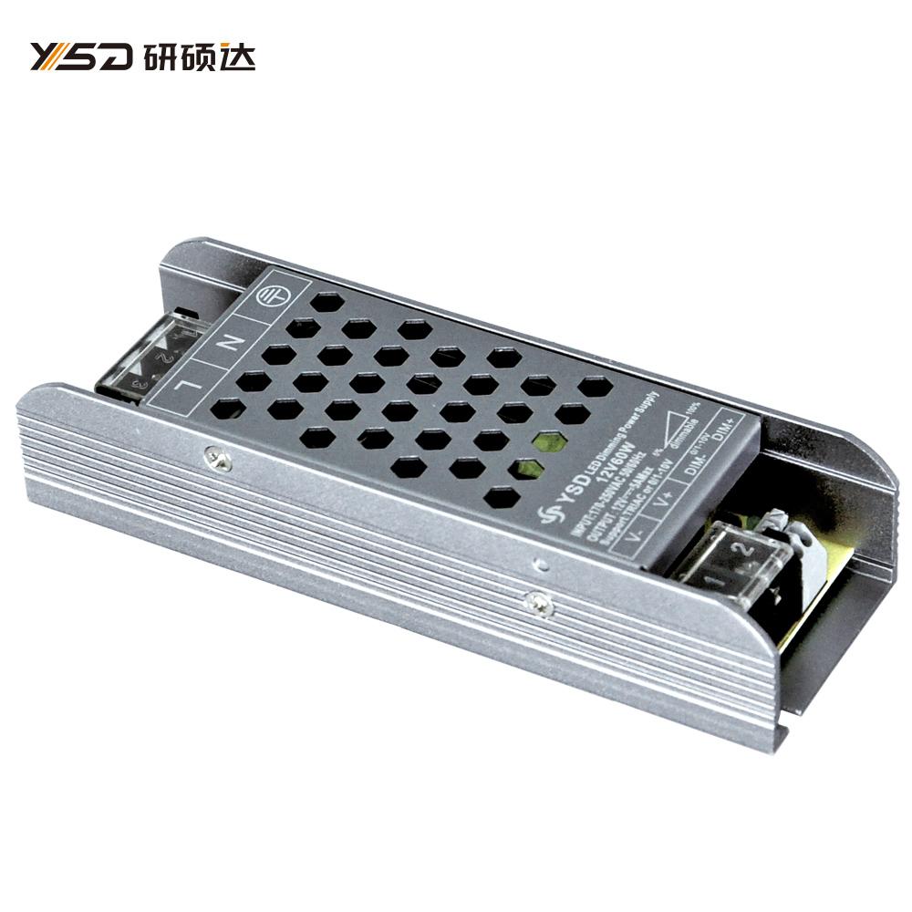 60W 12V/24V CV dimmable Switch LED power supply