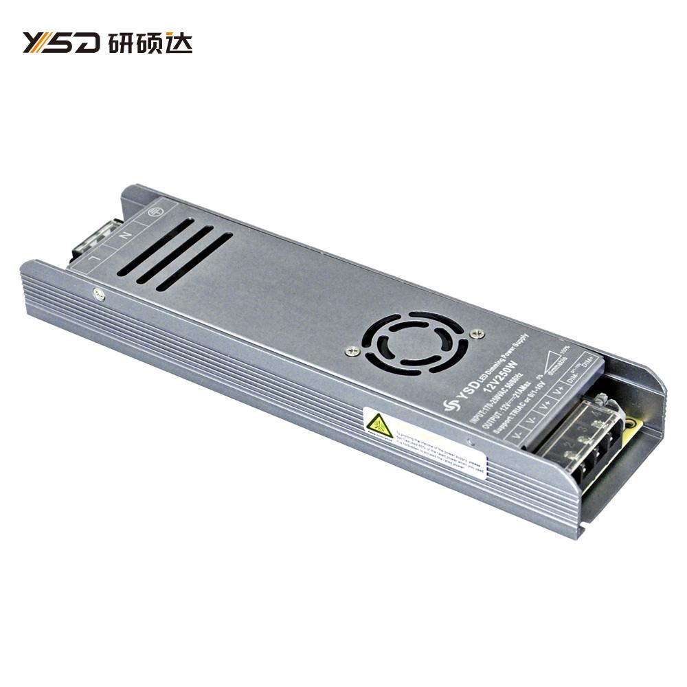 250W 12V/24V CV dimmable Switch LED power supply