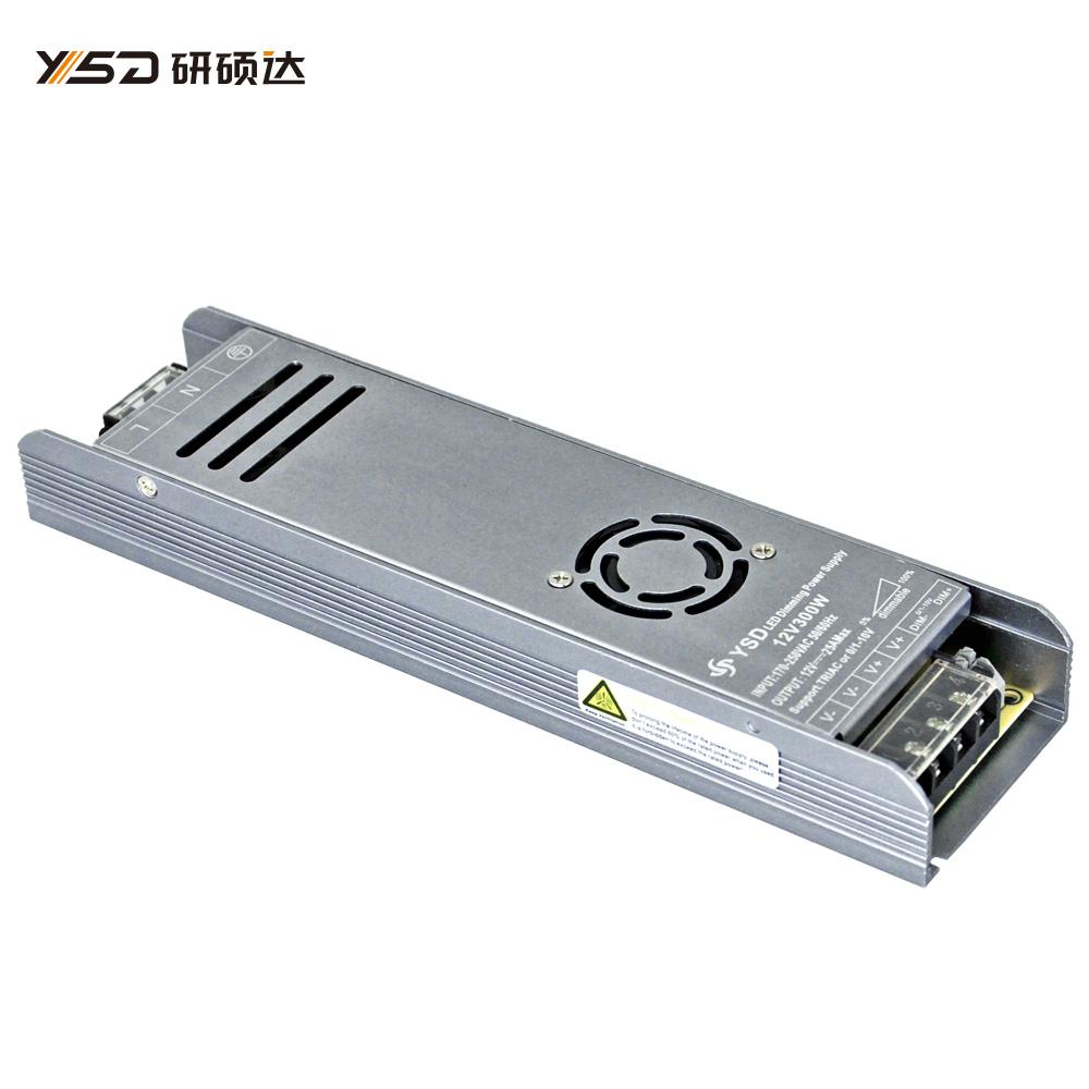 300W 12V/24V CV dimmable Switch LED power supply