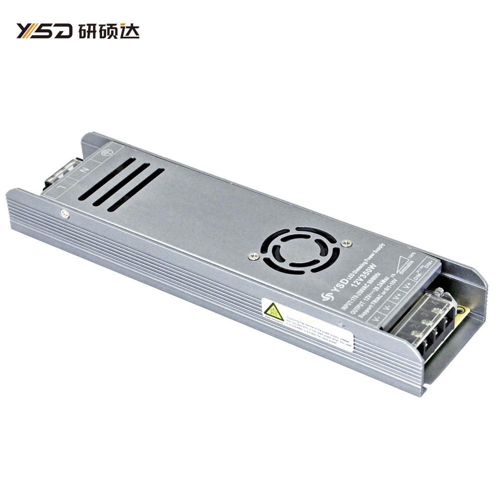 350W 12V/24V CV dimmable Switch LED power supply