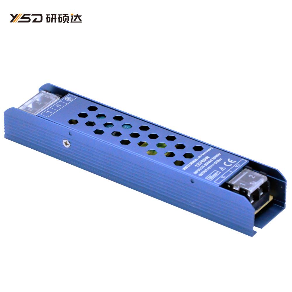 60W 12V/24V/48V C&V LED Switch power supply YSD