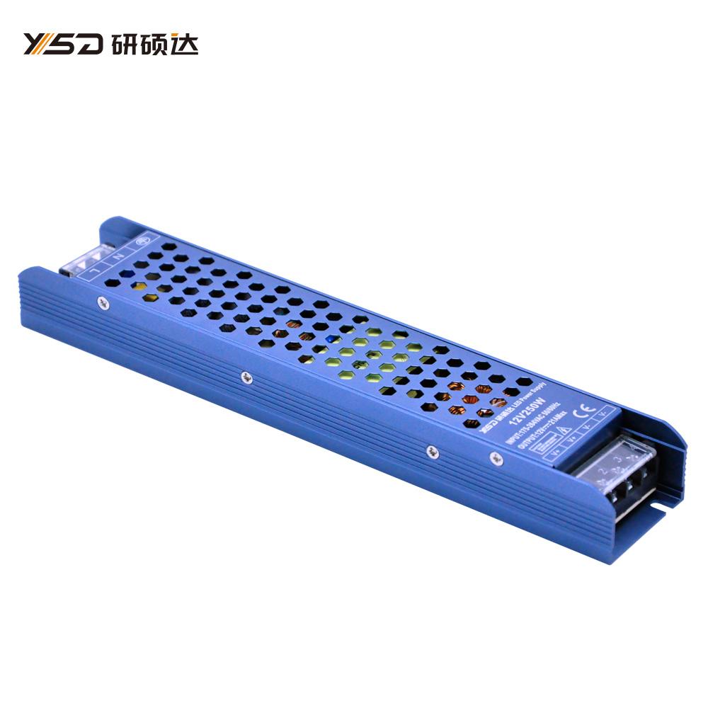 250W 12V/24V/48V C&V LED Switch power supply YSD