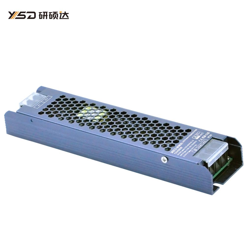 60W 12V/24V CV semi filled glue switch LED power supply YSD