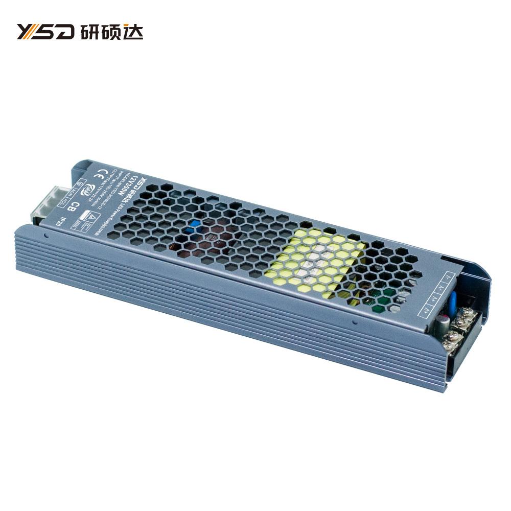350W 12V/24V CV semi filled glue switch LED power supply YSD