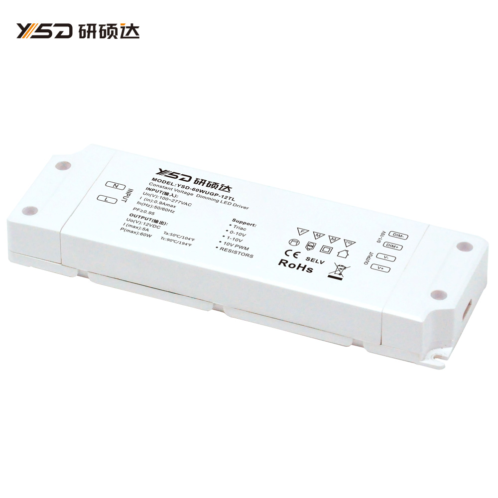 60W 12V/24V CV high-end dimmable switch LED power supply