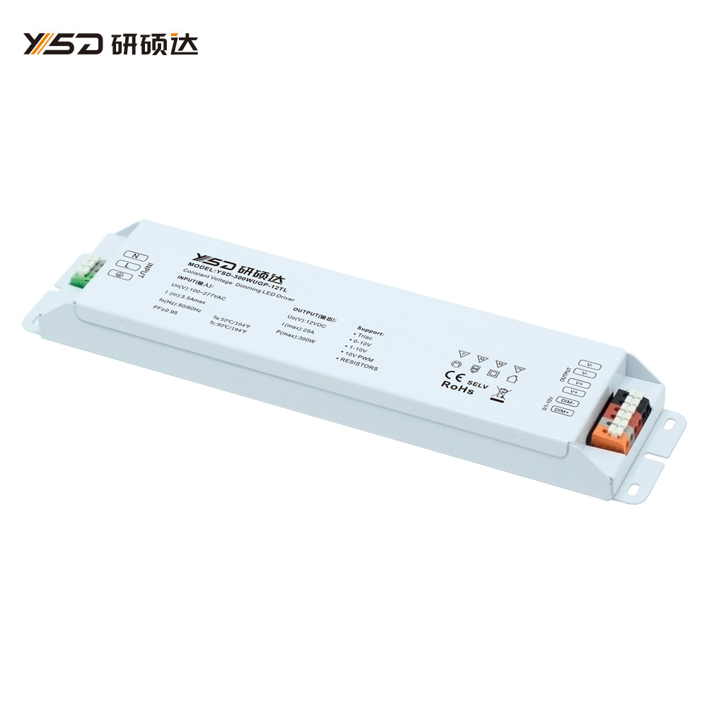 300W 12V/24V CV high-end dimmable switch LED power supply