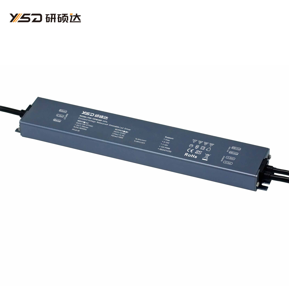 150W 12V/24V CV High-end Dimmable Waterproof LED power supply